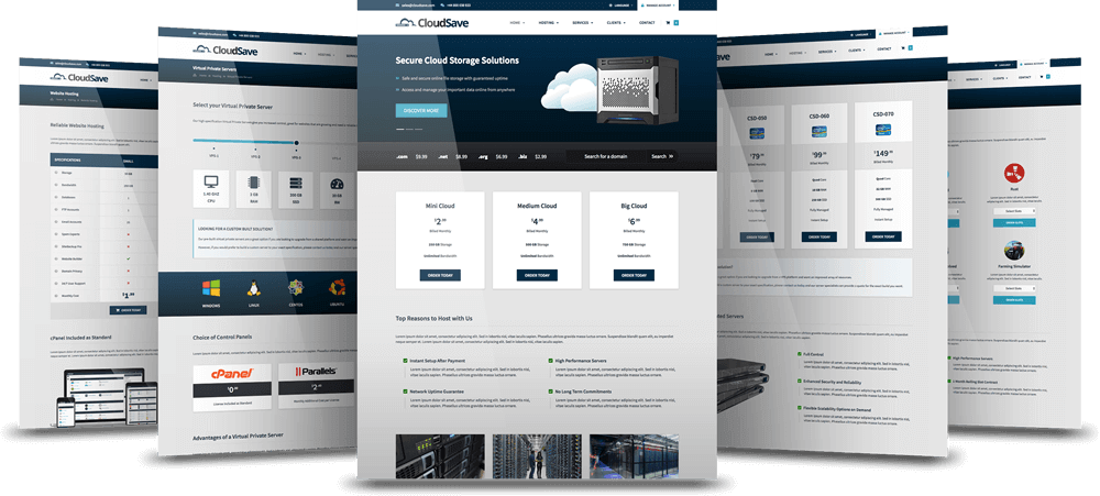 Cloud Save Page Layouts