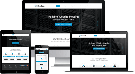 Flex Host - WHMCS Template